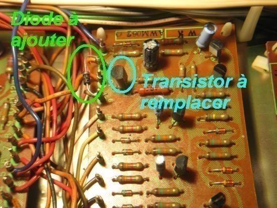 panne sur ampli pioneer sx 5570 3