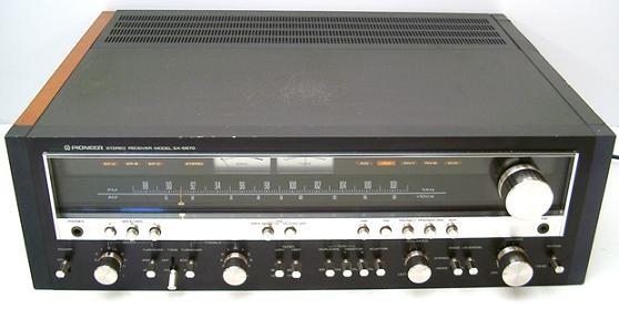 panne sur ampli pioneer sx 5570 4
