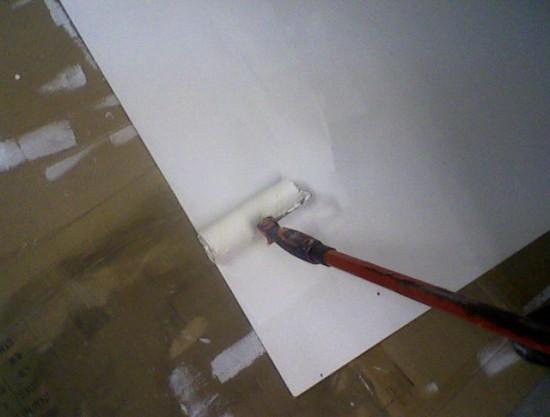 plafond etoile a led realisation 15