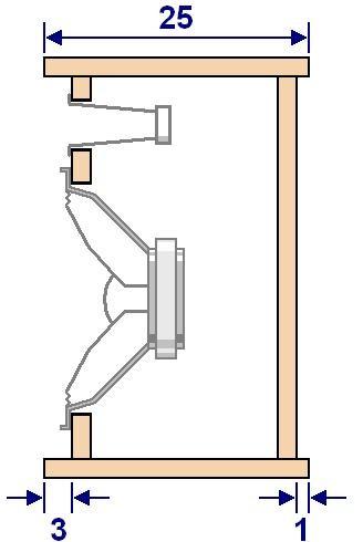 plan de construction d enceinte sono hp 25cm 1