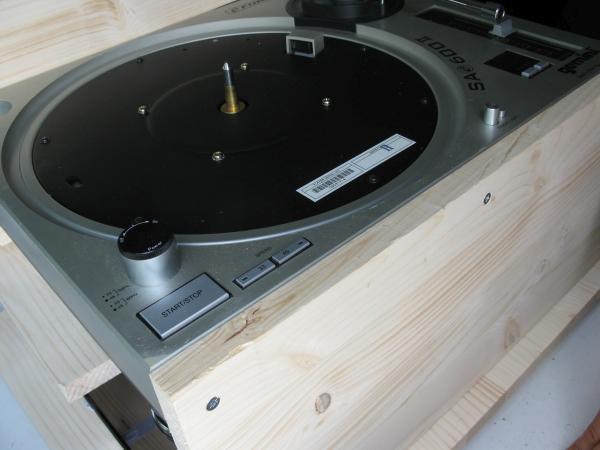 platine vinyle audiophile en bois 1