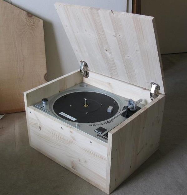 platine vinyle audiophile en bois 4