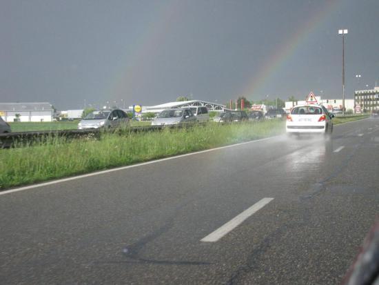 pluie sur la route l anticiper 7