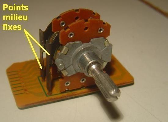 Potentiomètre à 4 broches : remplacement