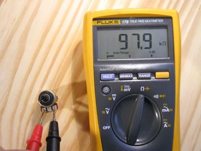 potentiometre pour balance audio fonctionnement 1
