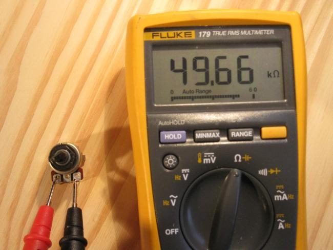 potentiometre pour balance audio fonctionnement 2