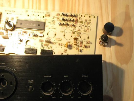 potentiometre pour balance audio fonctionnement 8