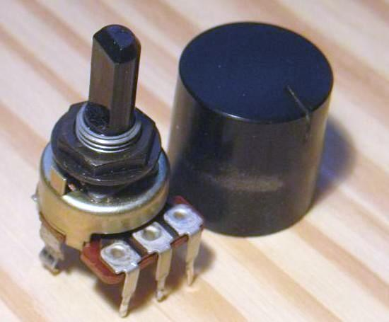 potentiometre pour balance audio fonctionnement 0