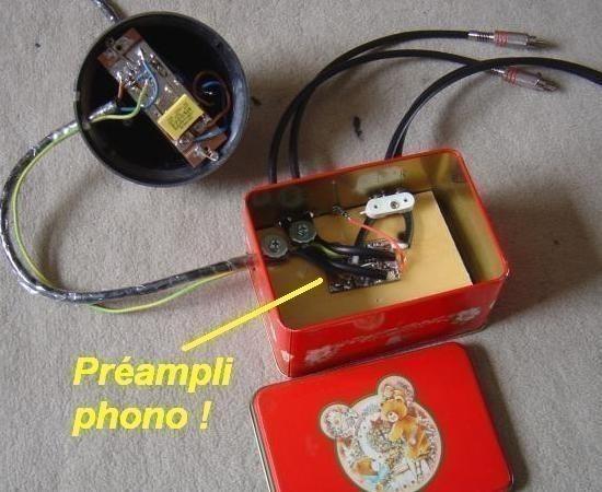 preampli phono riaa a ampli op realisation 7