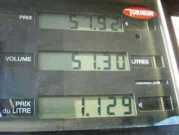 puissance recharge voiture electrique vs carburant 2