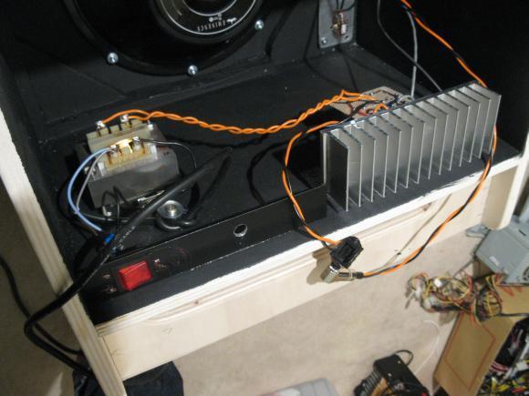 realisation ampli guitare 50w a 100w avec lm3886 9