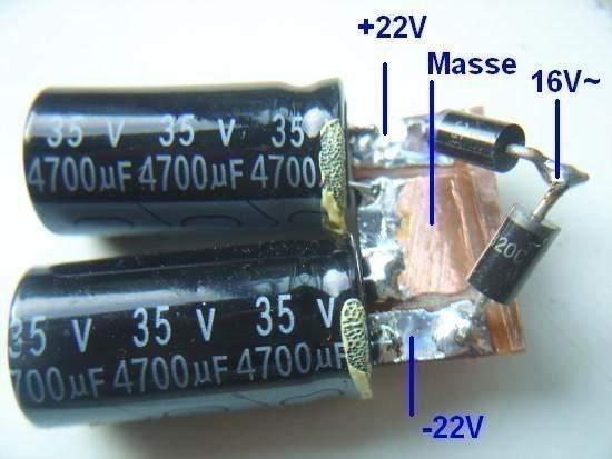 realisation d ampli 20w a lm1875 3