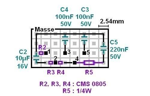 realisation d ampli 20w a lm1875 5