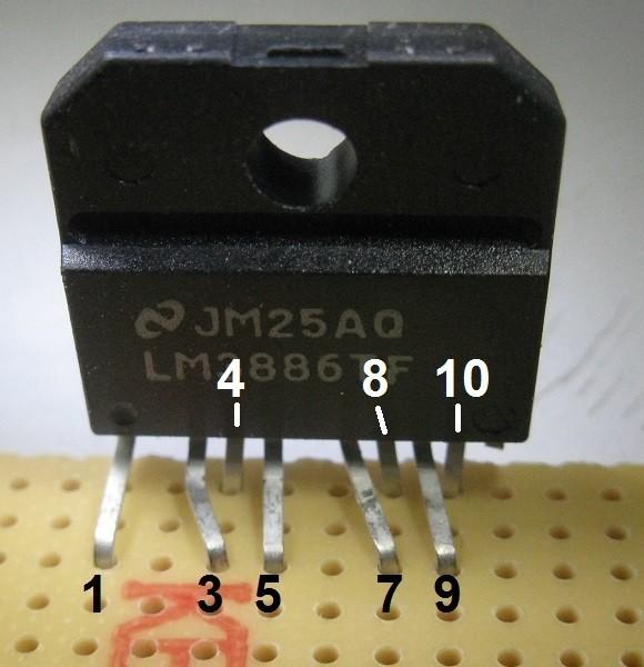 realisation d ampli lm3886 ultra rapide 1