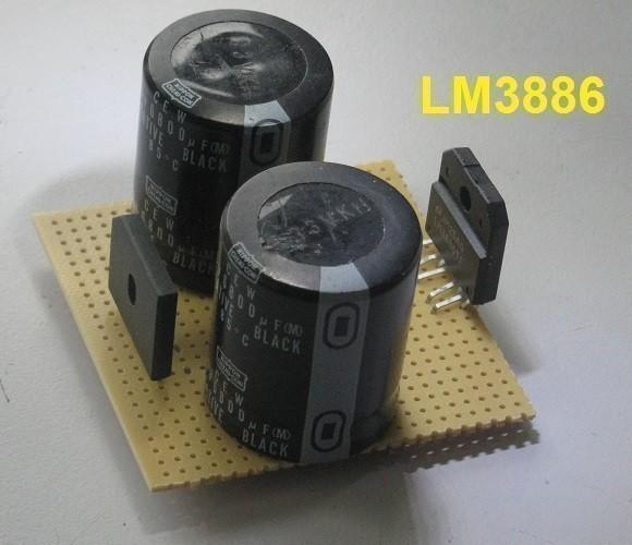 realisation d ampli lm3886 ultra rapide 3