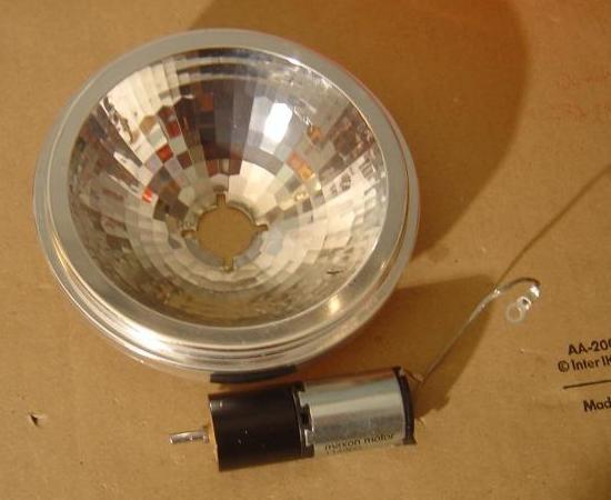 realisation de jeu de lumiere 100w halogene 2