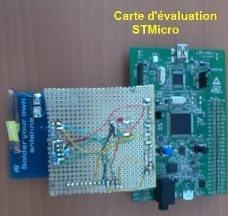 Réalisation de prototype de technologie NFC