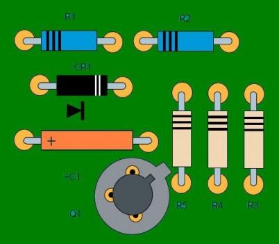 Réalisation électronique : montage de composants
