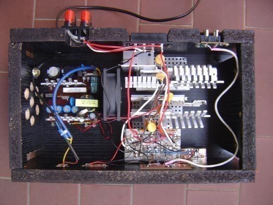 realisation et schema ampli audio 2x150w 12