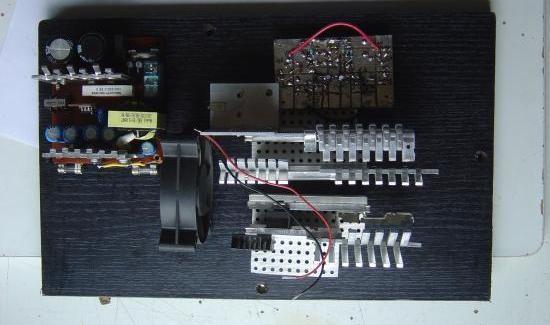 realisation et schema ampli audio 2x150w 3
