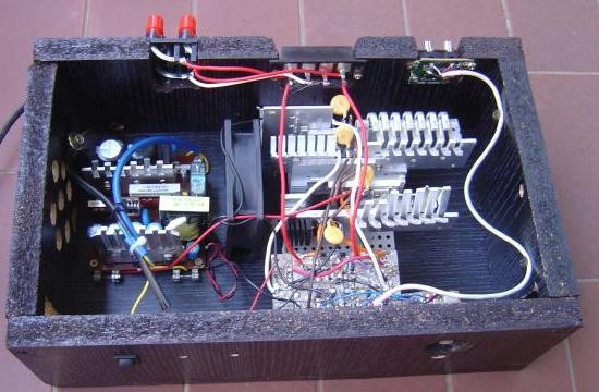 realisation et schema ampli audio 2x150w 10