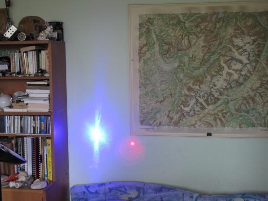 realisation laser bleu 1w ou 2w 1000mw 11