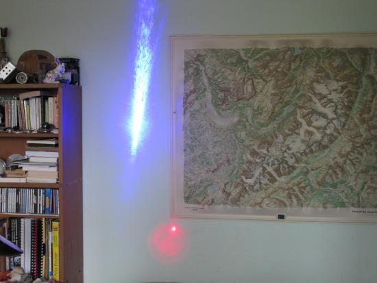 realisation laser bleu 1w ou 2w 1000mw 12
