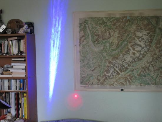 realisation laser bleu 1w ou 2w 1000mw 13