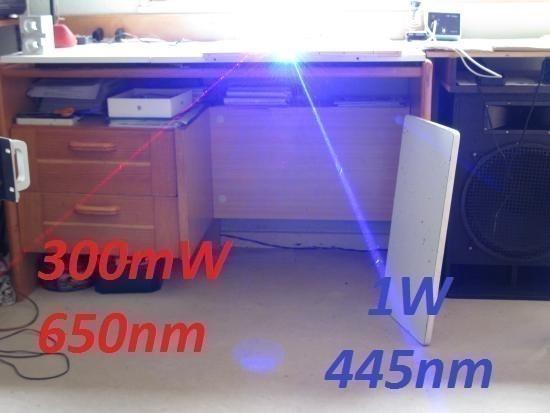 realisation laser bleu 1w ou 2w 1000mw 14