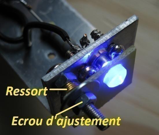realisation laser bleu 1w ou 2w 1000mw 9