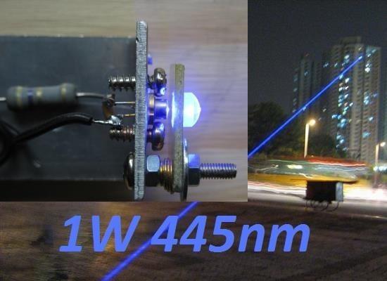 realisation laser bleu 1w ou 2w 1000mw 0