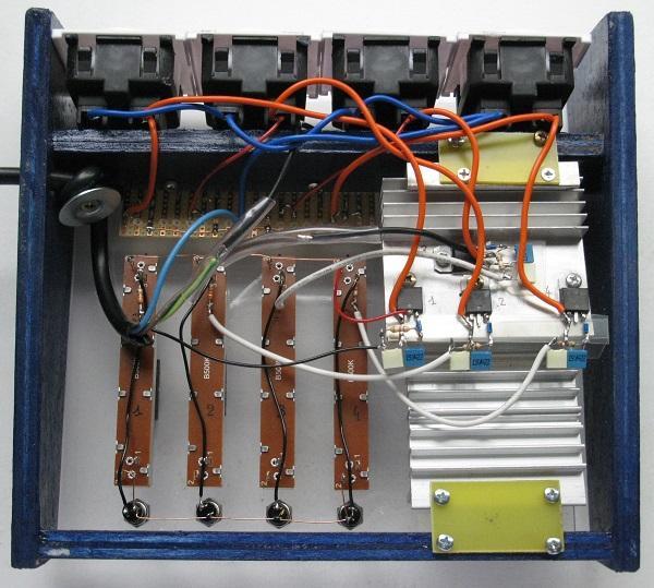 realisation variateur de lumiere 4 x 2000w 11