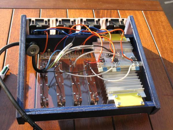 realisation variateur de lumiere 4 x 2000w 12