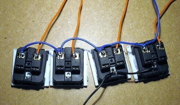 Réalisation variateur de lumière 4 x 2000W