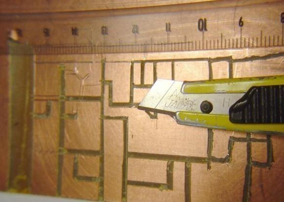 realiser un circuit imprime pro sans graveuse 8