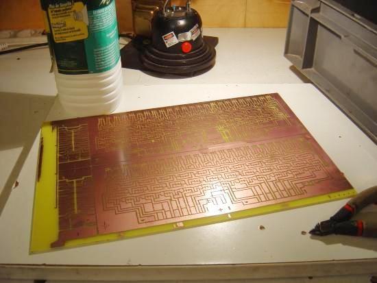 insoleuse circuit imprime
