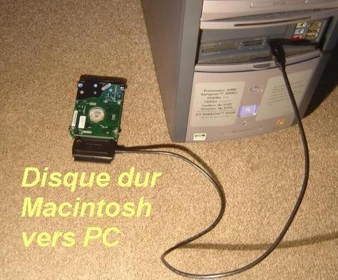 recuperation de donnees mac 0