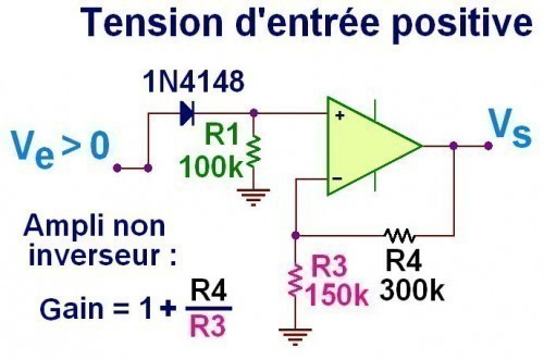 redresseur double alternance a ampli op 2