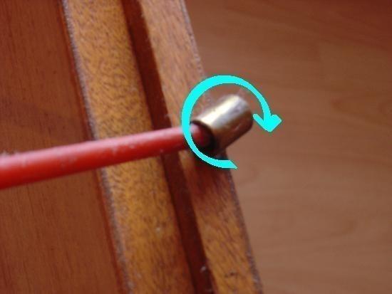 reparer une porte qui frotte ou ferme mal 4