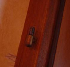 reparer une porte qui frotte ou ferme mal 5