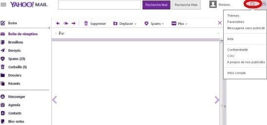 Revenir à l'ancienne version de Yahoo Mail (2013)