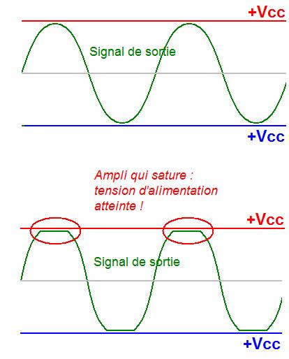 schema ampli 500w 1000w simple 1