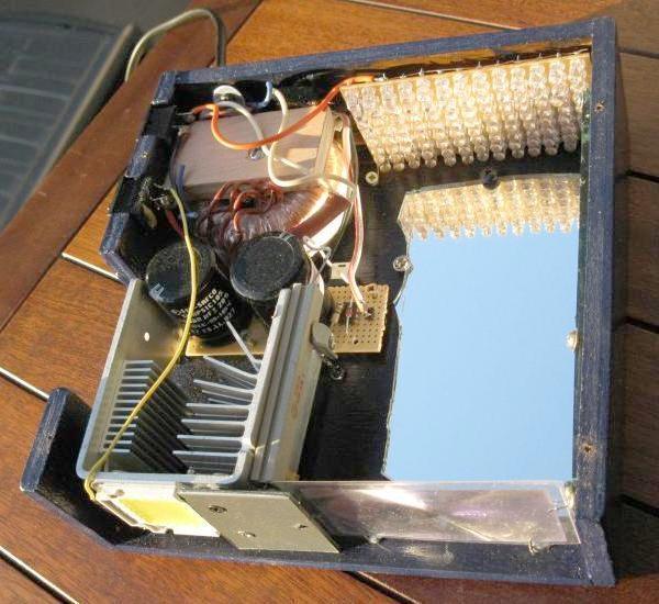schema et realisation stroboscope led 50w 1