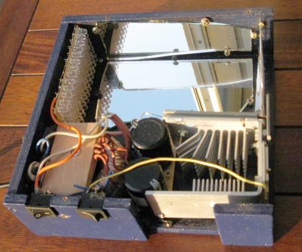 schema et realisation stroboscope led 50w 2