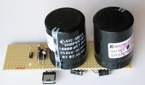 schema et realisation stroboscope led 50w 3