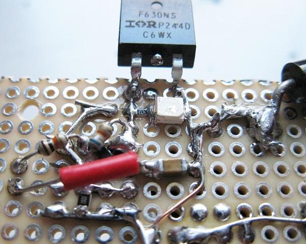 schema et realisation stroboscope led 50w 4