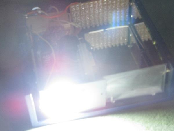 schema et realisation stroboscope led 50w 5