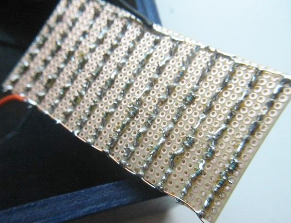 schema et realisation stroboscope led 50w 8