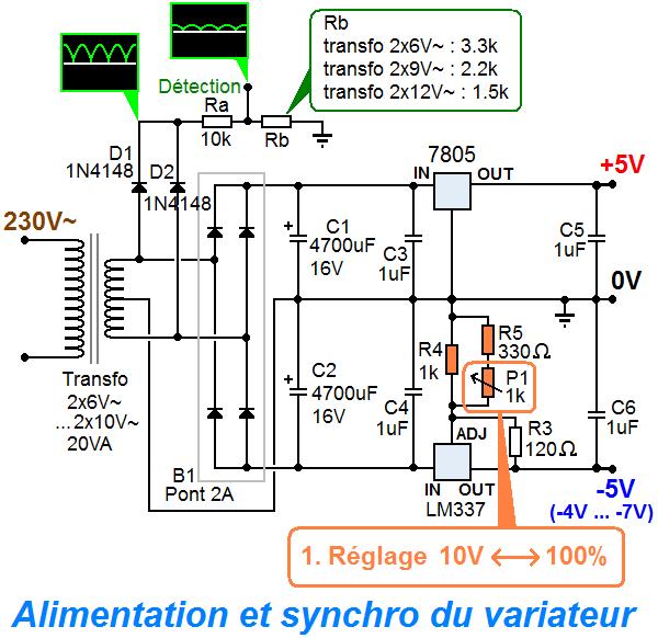 schema variateur de lumiere 0 10v 7