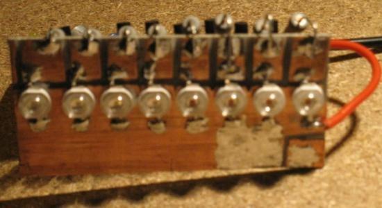 schema vumetre a led avec micro electret 3